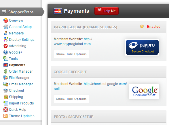 PayPro Global Payment Gateway |